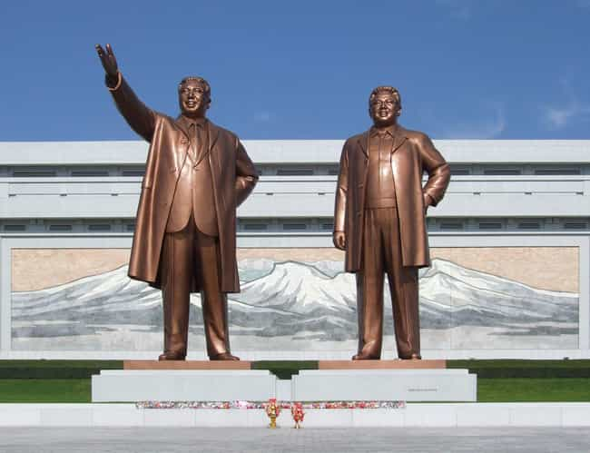 North Korea is listed (or ranked) 1 on the list The Most Bizarre Governments In History, Ranked