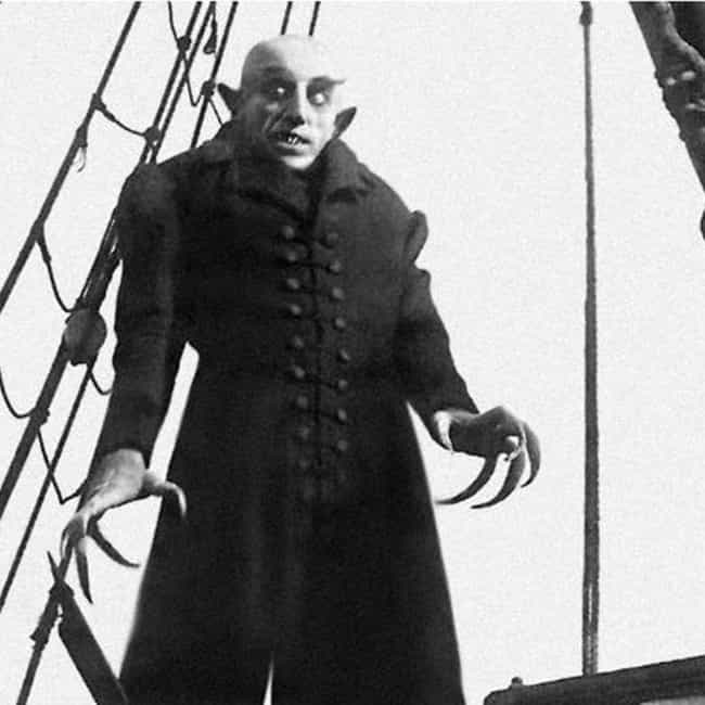 Nosferatu is listed (or ranked) 2 on the list 15 Of The Most Memorable Cinematic Takes On Dracula Over The Centuries