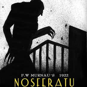 Nosferatu is listed (or ranked) 15 on the list The Greatest Vampire Movies of All Time