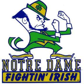 Notre Dame Fighting Irish is listed (or ranked) 25 on the list The Best Sport Team Names