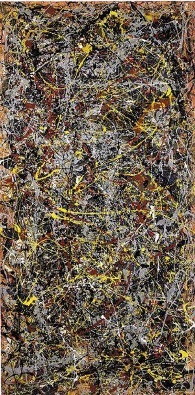 No. 5, 1948 is listed (or ranked) 3 on the list The Most Overrated Paintings of All Time