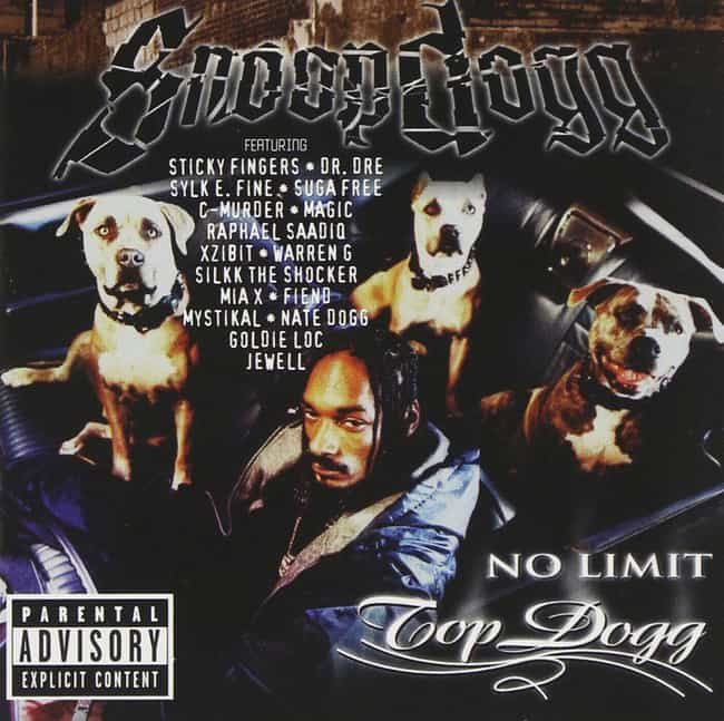 No Limit Top Dogg is listed (or ranked) 4 on the list The Best Snoop Dogg Albums of All Time