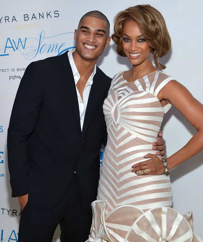 Rob Evans is listed (or ranked) 2 on the list Tyra Banks's Loves & Hookups