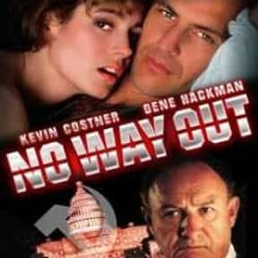 No Way Out is listed (or ranked) 19 on the list The Best Thriller Movies of the 1980s