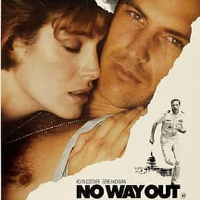 No Way Out is listed (or ranked) 7 on the list The Best Kevin Costner Movies