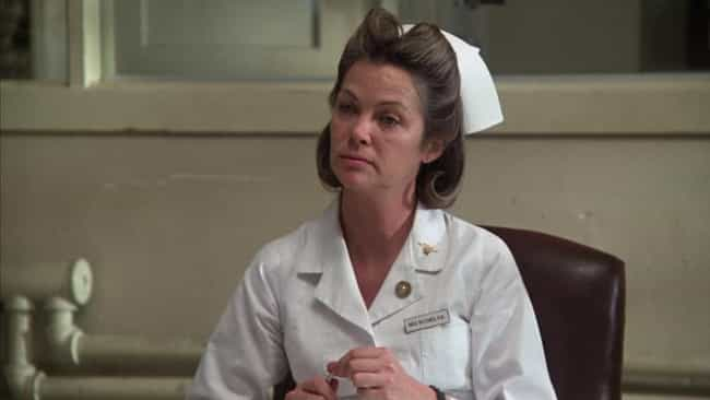 Nurse Ratched is listed (or ranked) 3 on the list Characters You Never Realized Are Basically Satan