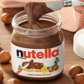 Nutella is listed (or ranked) 25 on the list 21st Century Food Fads to Avoid