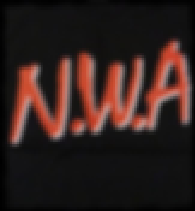 N.W.A is listed (or ranked) 4 on the list The Best Hip Hop Logos Of All Time