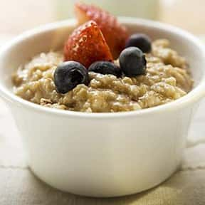 Oatmeal is listed (or ranked) 16 on the list The Healthiest Superfoods