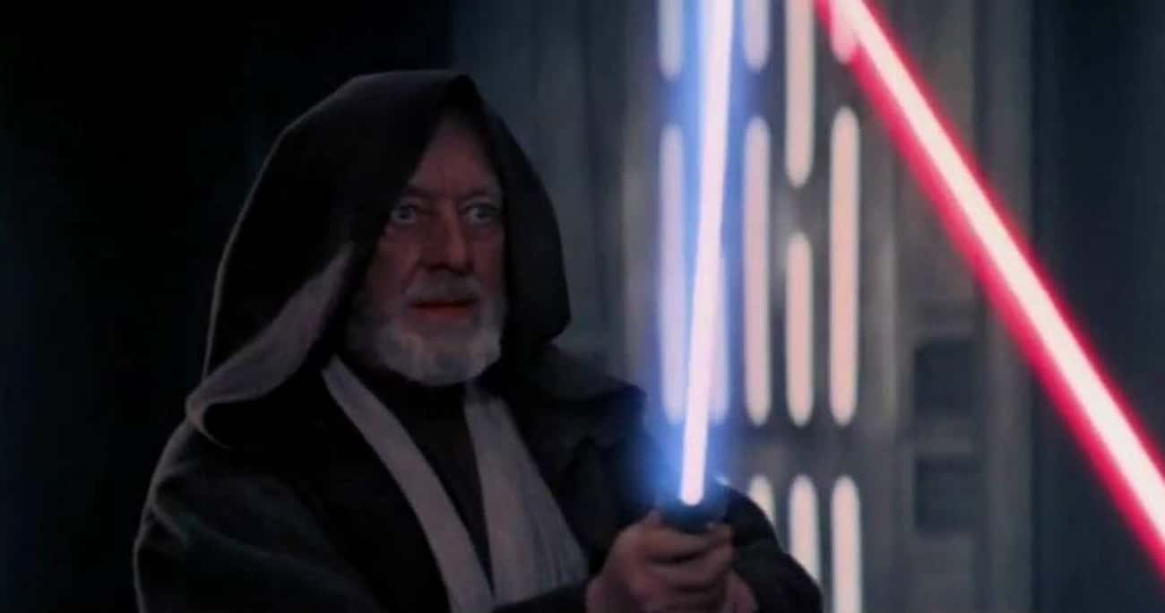 Obi-Wan Kenobi is listed (or ranked) 1 on the list The 20 Most Unforgettable Last Words Of 'Star Wars' Characters