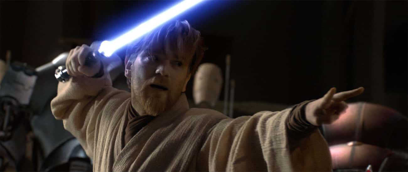 Obi-Wan Kenobi is listed (or ranked) 3 on the list Which Jedi Or Sith Would Win In An All-Out Battle?