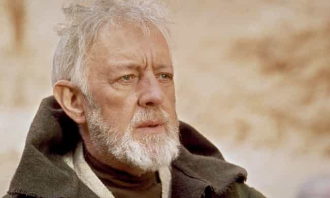 Obi-Wan Kenobi is listed (or ranked) 2 on the list How Old Are Star Wars Characters, Really?