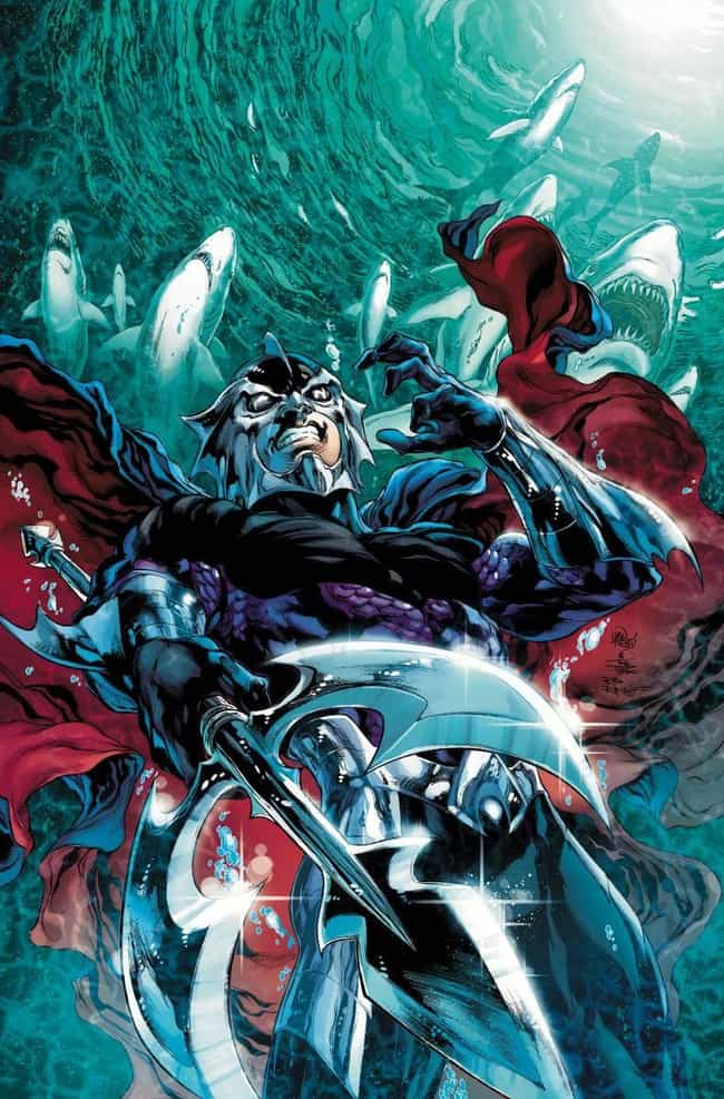 Ocean Master is listed (or ranked) 2 on the list Aquaman's All Time Most Notorious Villains