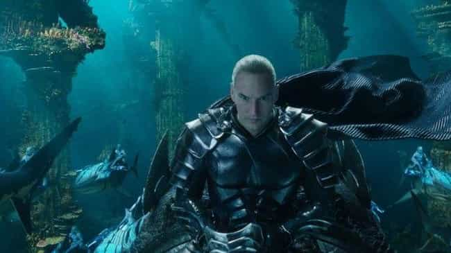 Ocean Master is listed (or ranked) 3 on the list Here Are All The Characters In 'Aquaman' That You've Never Seen Before