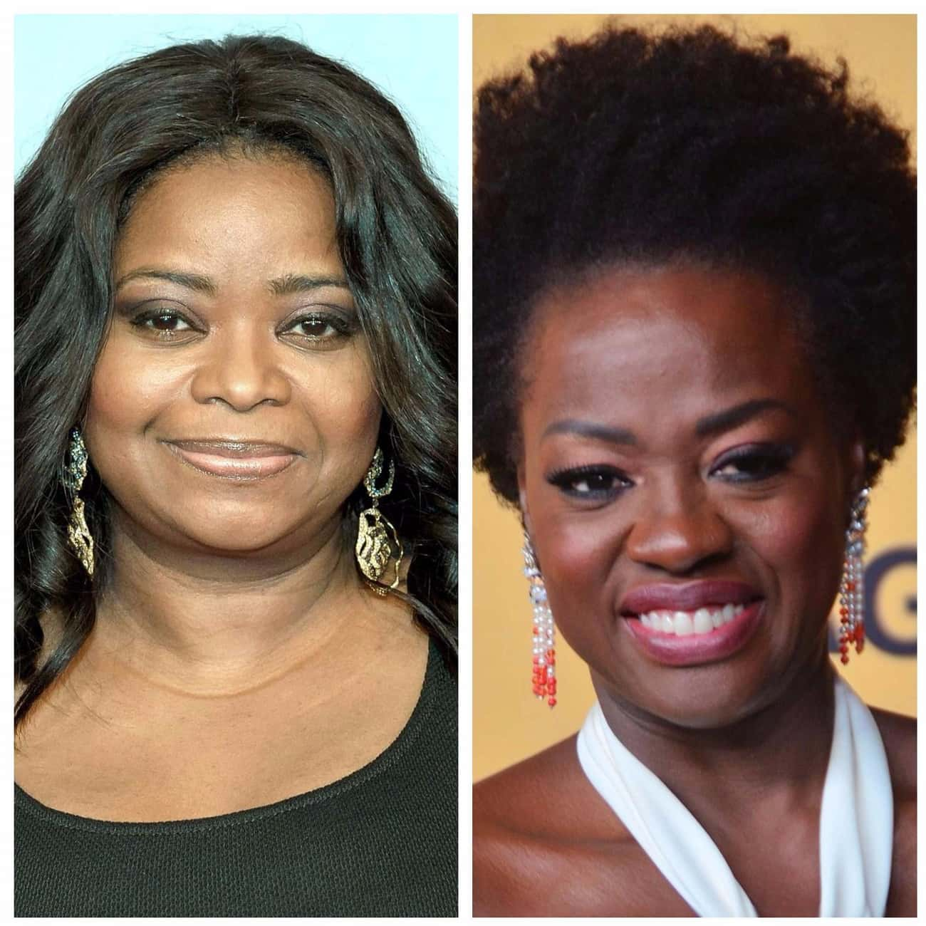 E! Confused Octavia Spencer And Viola Davis
