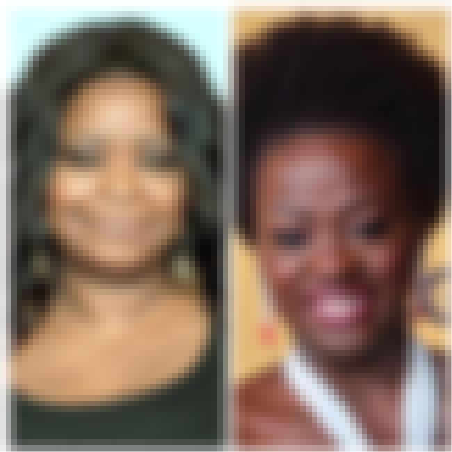 Octavia Spencer is listed (or ranked) 2 on the list Celebrities Who Were Mistaken For Each Other By The Media