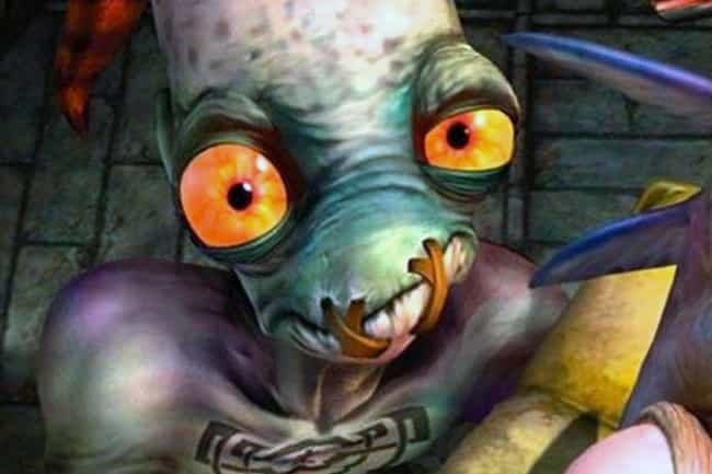 Oddworld: Abe's Oddysee is listed (or ranked) 2 on the list The Creepiest Things In Your Favorite Childhood Video Games