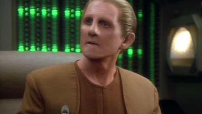 Odo is listed (or ranked) 1 on the list The Luckiest Characters In The 'Star Trek' Franchise