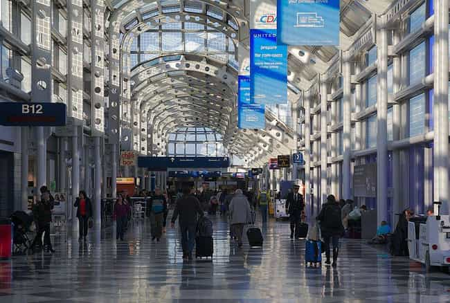 O'Hare International Airport is listed (or ranked) 4 on the list 13 Cool And Thoughtful Amenities At Airports Around The World