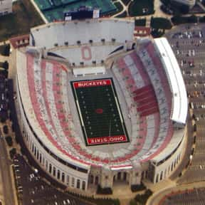 Ohio Stadium is listed (or ranked) 24 on the list The Best College Football Stadiums