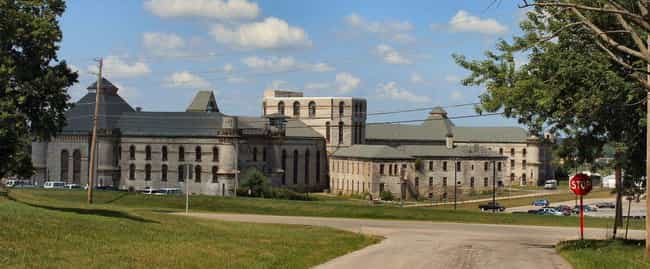 Ohio State Reformatory ... is listed (or ranked) 4 on the list 12 Arresting Prison Ghost Stories To Keep You Shackled With Fear
