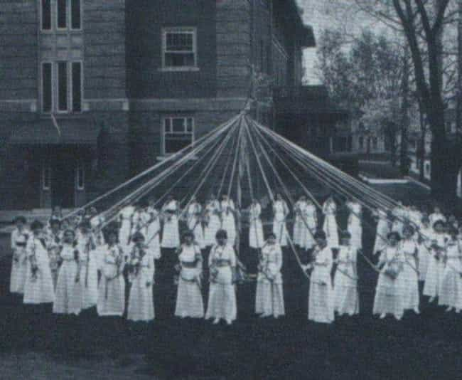 Ohio University is listed (or ranked) 4 on the list The Most Haunted College Campuses In The United States