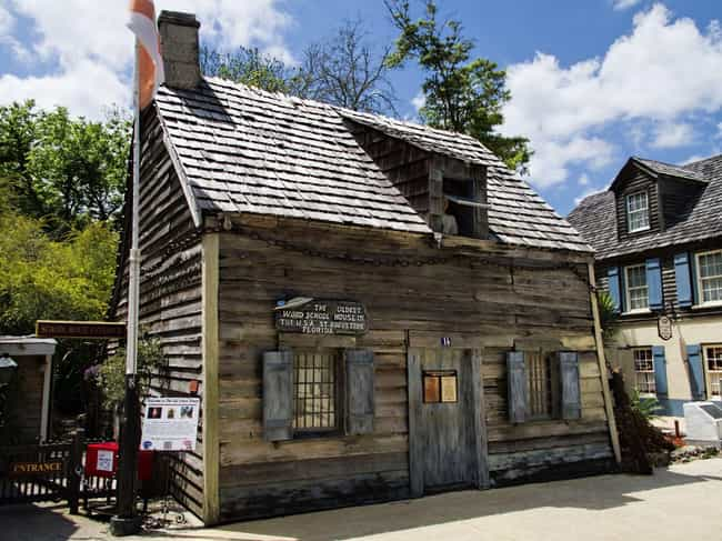 Oldest Wooden Schoolhouse is listed (or ranked) 4 on the list The Most Haunted Locations In Florida That You Can Actually Visit