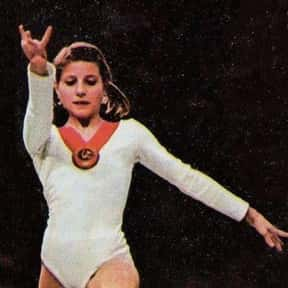 Olga Korbut is listed (or ranked) 23 on the list Famous Female Gymnasts