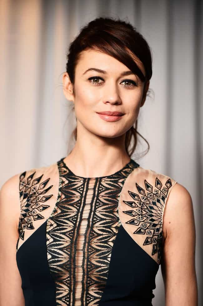 Olga Kurylenko is listed (or ranked) 2 on the list Beautiful Celebrity Women with Lovely Green Eyes