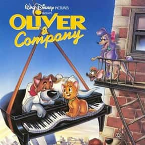 Oliver & Company is listed (or ranked) 2 on the list The Best Disney Movies Starring Cats
