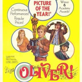 Oliver! is listed (or ranked) 16 on the list The Best Musical Movies Nominated for Best Picture