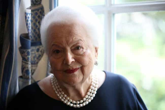 Olivia de Havilland is listed (or ranked) 3 on the list Old Celebrities You Didn't Realize Are Still Alive