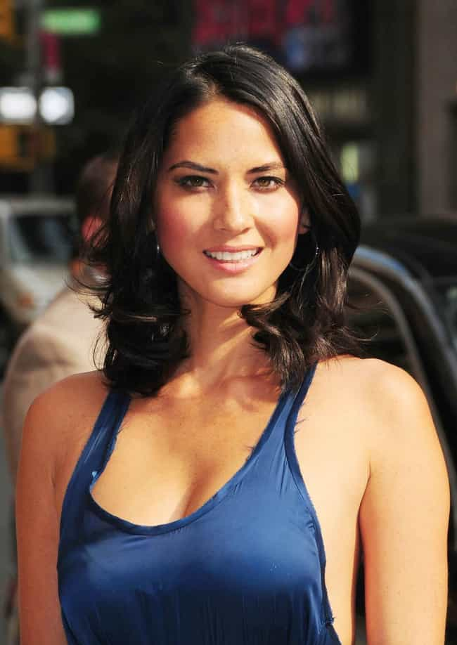 Olivia Munn is listed (or ranked) 1 on the list Famous People of Chinese Descent