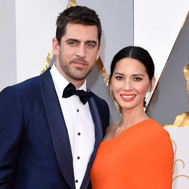 Olivia Munn is listed (or ranked) 3 on the list Aaron Rodgers Loves And Hookups