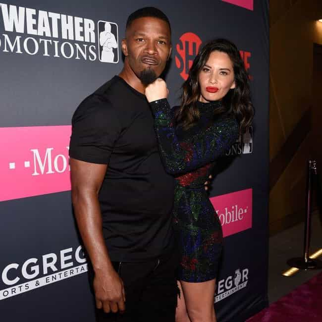 Olivia Munn is listed (or ranked) 3 on the list Jamie Foxx Loves And Hookups