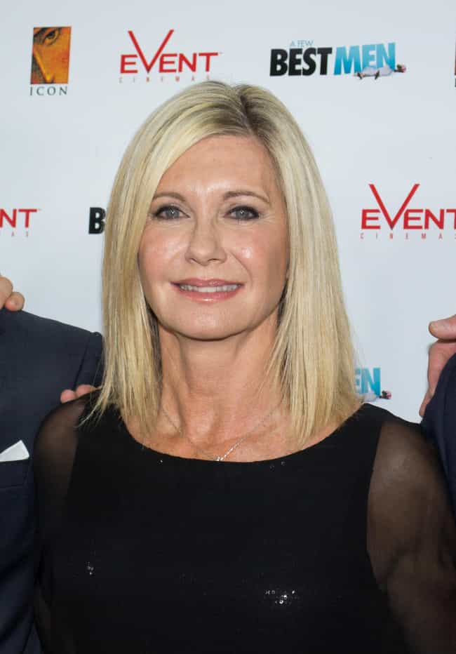 Olivia Newton-John is listed (or ranked) 4 on the list Stunning Celeb Women Over 60