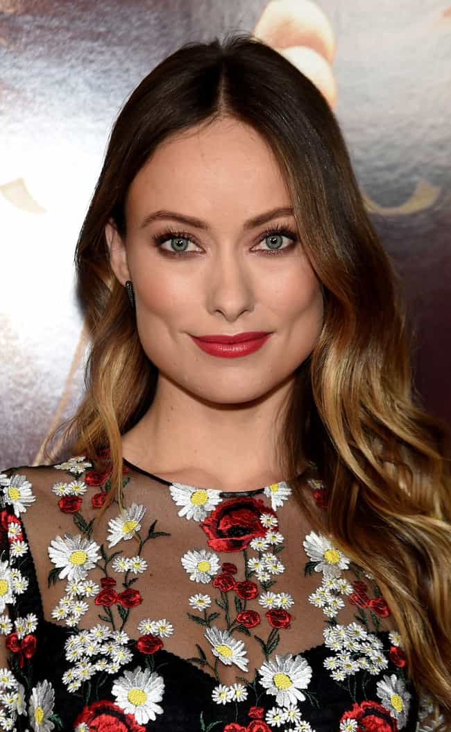 Olivia Wilde is listed (or ranked) 4 on the list Does Size Matter?