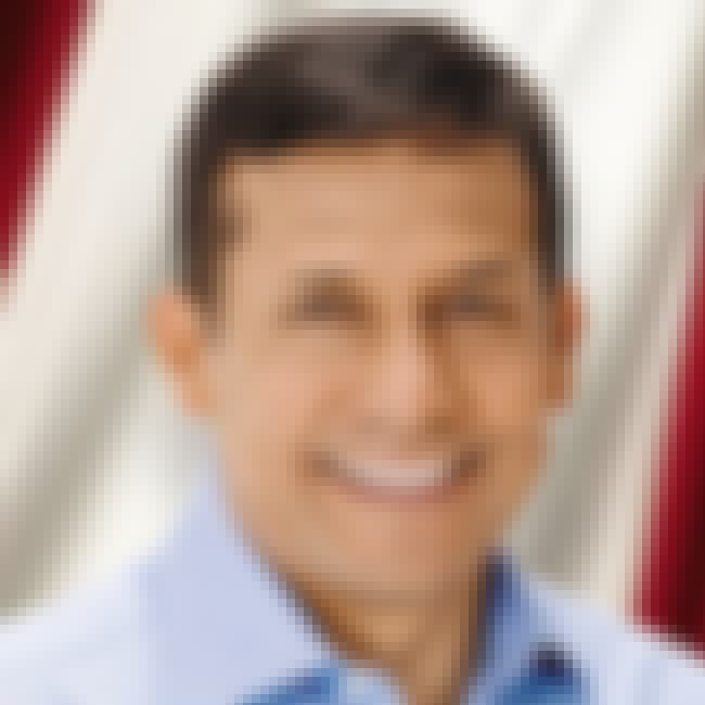 Ollanta Humala is listed (or ranked) 4 on the list Famous Pontifical Catholic University Of Peru Alumni