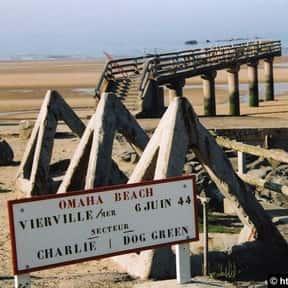 Omaha Beach is listed (or ranked) 7 on the list The Battles of Omar Bradley