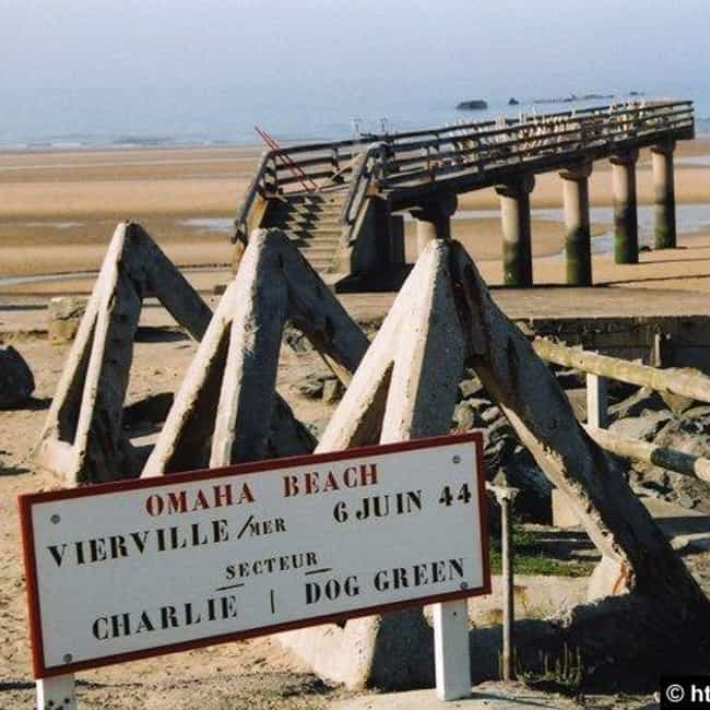 Omaha Beach is listed (or ranked) 3 on the list A List Of All Battle of Normandy Battles