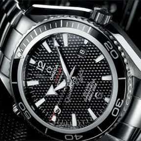 Omega is listed (or ranked) 3 on the list The Best Watch Brands