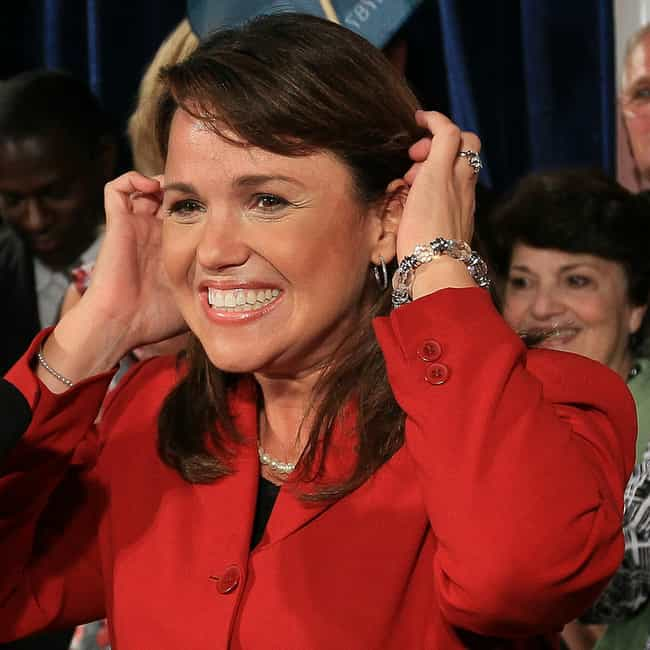 Christine O'Donnell is listed (or ranked) 4 on the list 12 Anti-Gay Politicians with LGBT Relatives