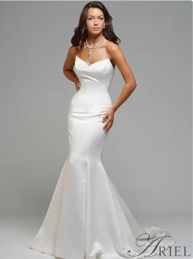 Ariel is listed (or ranked) 4 on the list Disney Bridal Gowns: Have a Disney Princess Wedding