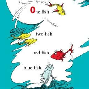 One Fish Two Fish Red Fish Blu is listed (or ranked) 5 on the list The Best Dr. Seuss Books