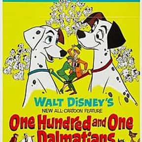 101 Dalmations is listed (or ranked) 2 on the list The Greatest Dog Movies Of All Time