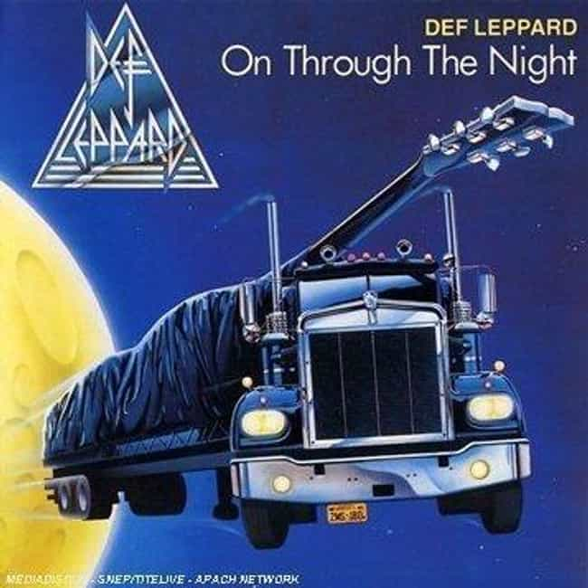 On Through the Night is listed (or ranked) 4 on the list The Best Def Leppard Albums of All Time