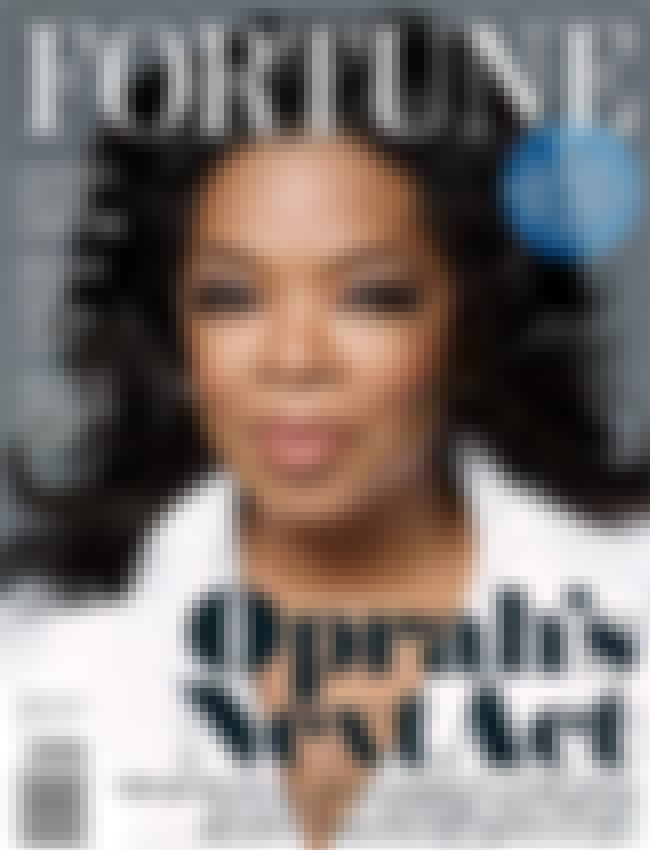 Oprah Winfrey is listed (or ranked) 3 on the list The Best Fortune Covers