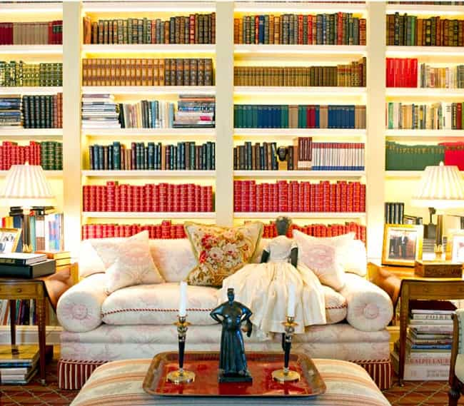 Oprah Winfrey is listed (or ranked) 1 on the list Cool Pictures from Inside Celebrity Homes