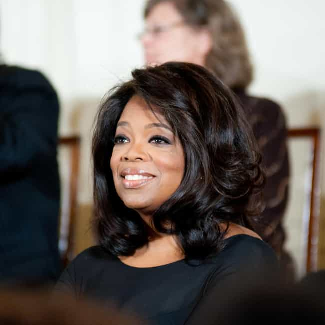Oprah Winfrey is listed (or ranked) 3 on the list Famous INFJs