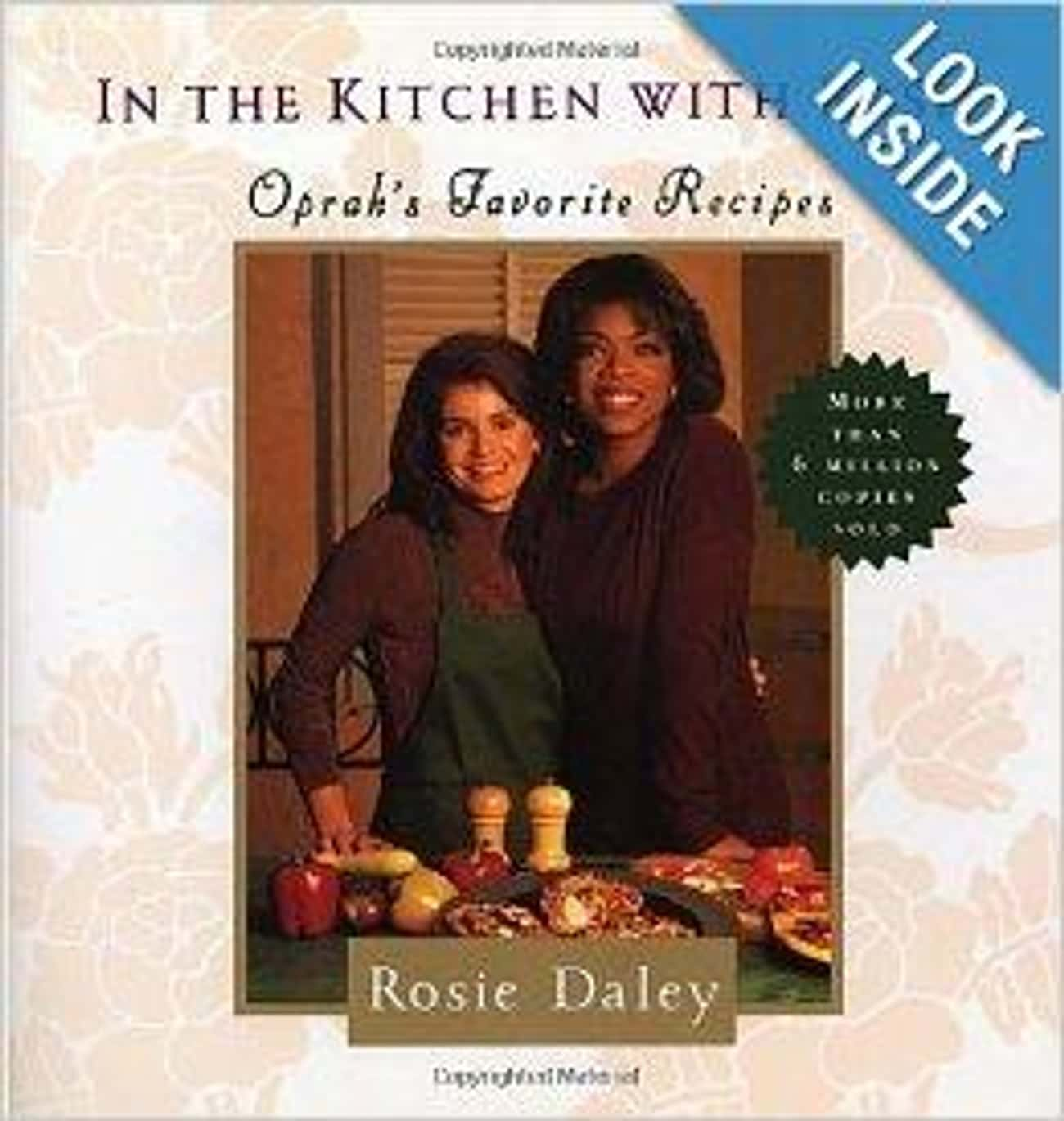 Oprah Winfrey is listed (or ranked) 4 on the list 38 Celebrities Who Wrote Cookbooks